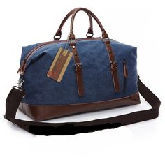 Canvas Leather Men Travel Bag Carry On Luggage Bags Men Hand Casual Travel Duffel Bags Tote Large Weekend Bag Overnight looks excellent in designs, design, Travel Bags Carry On, Canvas Travel Bag, Canvas Duffle Bag, Travel Tote, Duffel Bags, Travel Luggage, Canvas Bags, Canvas Handbags, Mens Gym Bag
