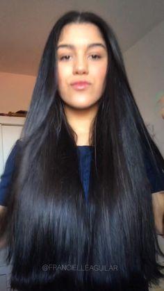 Black Hair Video, Long Hair Video, Diy Hair Treatment, Natural Hair Treatments, Long Hair Wigs, Easy Hairstyles For Long Hair, Brown Hair Balayage, Hair Highlights, Diy Hair Mask