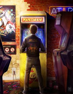 Inspired by the book Ready Player One by Ernest Cline Digital Photoshop piece