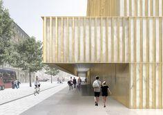 David Chipperfield revela nuevas imágenes del Centro Nobel en Estocolmo
