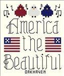 America the Beautiful free pattern from cyberstitchers