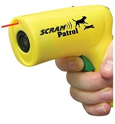 Scram Patrol Ultra Sonic Dog Animal Chaser Pet Safety Stop Dog Attacks Red Line >>> Learn more by visiting the image link.