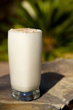 Creamy Coconut Cinnamon Smoothie...substitute either almond or coconut milk for reg milk and maybe 1/4 the banana to cut down on sugar
