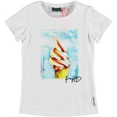 T-Shirt White Ice Cream (T130153200) van het merk Tumble n Dry