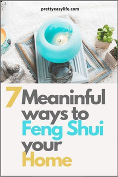 Simple ways to start applying Feng Shui in your home for a better life. Find out how to add Feng Shui good vibes in your kitchen, living room, bathroom and how declutering your home can add good Feng Shui to your life. Feng Shui New Home, How To Feng Shui Your Home, Feng Shui House, Feng Shui Bedroom, Feng Shui Basics, Feng Shui Rules, Feng Shui Art, Feng Shui Tips, New Home Source
