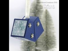 Pootles Advent Countdown #6 Gorgeous Hanging Gift Tutorial
