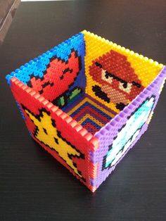 Mario pencil holder hama perler by perlergirls