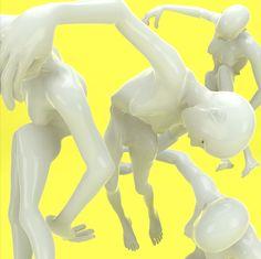 Unicorn Paris, Untitled, 2015 | See more art on iheartmyart.com | #art | #digitalart | #3D | #C4D | #artist