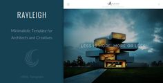 Deals Rayleigh - A Responsive Minimal Architect TemplateWe have the best promotion for you and if you are interested in the related item or need more information reviews from the x customer who are own of them before please follow the link to see fully reviews
