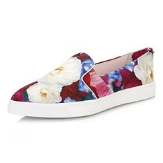1bb7f759c Step up your everyday wardrobe with these slip-on Ted Baker trainers. In a
