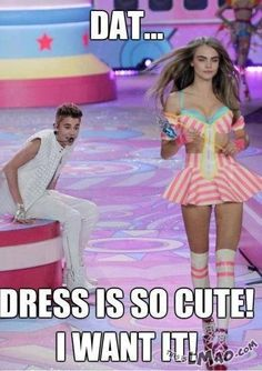 ROFL, this is funny Bieber wants that dress! | #dress, #justin bieber, #funny