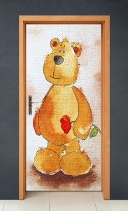 Naklejki na drzwi – Oferta: dekoracje scienne, foto obraz, foto obrazy, fotoobraz, fotoobrazy, fototapety, ładne obrazy, obraz, obraz na ścianę, obraz z własnego zdjęcia, obrazy, obrazy 3d, obrazy do biura, obrazy na aluminium, obrazy na płótnie Winnie The Pooh, Teddy Bear, Bright, Toys, Disney Characters, Art, Activity Toys, Art Background, Winnie The Pooh Ears
