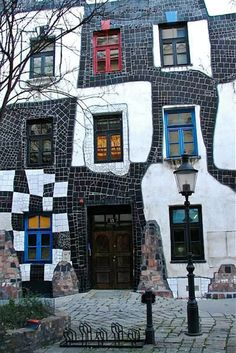 hundertwasser haus hessen germany click and like my. Black Bedroom Furniture Sets. Home Design Ideas