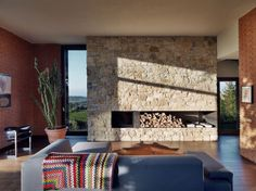 Contemporary Brick Barn House in Milano (3)