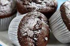 De her chokolademuffins er SÅ lækre. Muffins, Chocolate Lava, Oreo Cheesecake, Cake Cookies, Cupcakes, Biscotti, Nutella, Sweet Tooth, Brunch