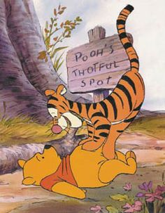 """Disney released Winnie the Pooh and Tigger Too (1974).   """"I'm the narrator!"""" """"Oh well, please, for goodness sakes, narrate me down from here!"""""""