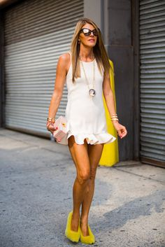 Les plus beaux streetlooks de la Fashion Week de New York  #Fur #Fashion