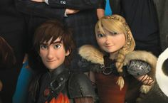 HTTYD2 Hiccup and Astrid. OMD (Oh My Dragon)! They've grown up! XD