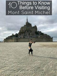 Mont Saint Michel is a bucket list destination located in the Normandy region of Northern France. The picturesque island rises majestically from the sea during high tide.If you're joining the more than 3 million people per year to visit the island, read our Mont St Michel travel tips before booking your vacation.
