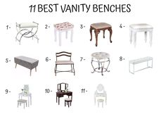 How to Upholster a Vanity Bench - Decor Ideas Home Furniture, Furniture Design, Bench Decor, Vanity Bench, Building, Home Decor, Countertop Decor, Homemade Home Decor, Home Goods Furniture