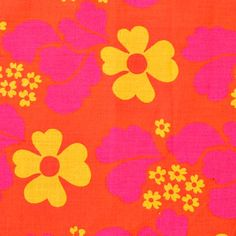 modflowers: vintage Finnish fabric