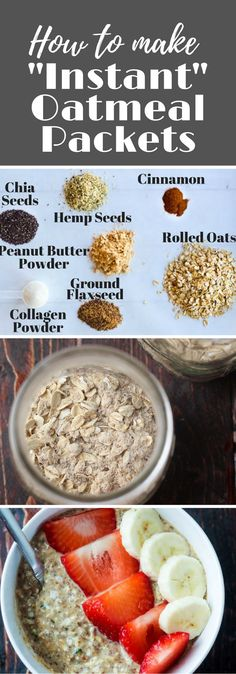Skip the sugary packets of instant oats & make your own oats packed with protein, anti-inflammatory omega 3's & energy! via @hungryhobby