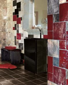 """Bathroom Tiles Design Pattern cerasarda """"trasparenze marine"""" - #bathroom #tile #design #concept"""