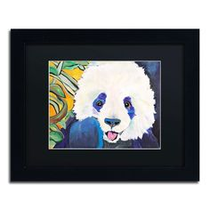 Mei Hua by Pat Saunders-White Framed Painting Print