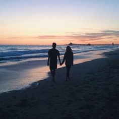 """""""i like long walks on the beach"""" .... you forgot while holding my one and only's hand at sunset #perfect"""