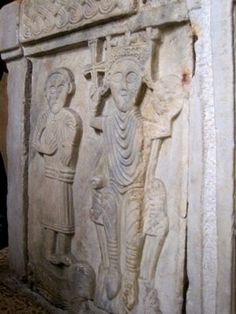 Diocletian's Palace Photo Tour: Inside the Temple of Jupiter - Baptismal Font with Croatian King