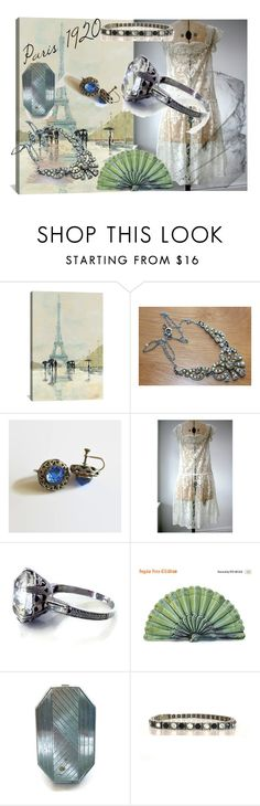 """La Mariée"" by weelambievintage ❤ liked on Polyvore featuring iCanvas, Houbigant and vintage"