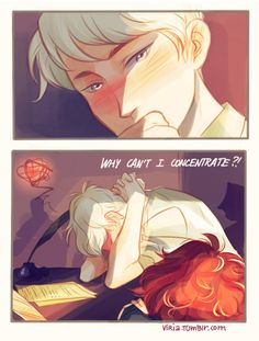 Scorpius and Rose (the next generation of Harry Potter) Part 3 by Viria he couldn't think right when he was by me in the same room as me talking about me or talking to me so we are dating Harry Potter Comics, Harry Potter Anime, Harry Potter Parts, Magia Harry Potter, Arte Do Harry Potter, Harry Potter Ships, Harry Potter Fan Art, Harry Potter Universal, Harry Potter Fandom