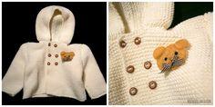 Coat made by Alexandra Reis with Nanny yarn/Casaco feito por Alexandra Reis com o fio Nanny