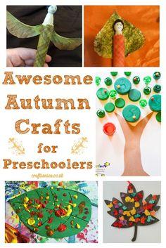 Autumn Crafts for Preschoolers: Pintorials - Crafts on Sea