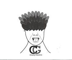 Huisstijl opdracht eigen logo gemaakt