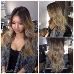 Cool Ash Blonde Balayage And Base On Asian Hair In Portland Or Pdx Hairstyles For Men Maxibearus