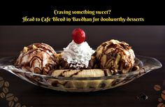 Head to CAFE BLEND for all your sweet cravings this weekend! Address: Mantri Lavendula, Pune-Paud Road, Bavdhan, Pune 21 Contact: +91751732 3863 #Desserts #Cafes #IceCreams #CafeBlend #CityShorPune