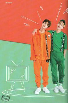 BTS Jin Jhope