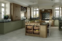 Matt Dakkar & Odessa Oak - Contemporary Kitchens - Kitchen Gallery - DIY kitchens to your door from Do It Yourself Kitchens - Supply Only Kitchens