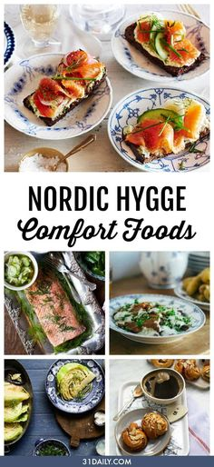 Bringing hygge home with these easy and authentic Nordic Hygge comfort food recipes. Comfort Foods to Inspire Nordic Hygge | 31Daily.com #comfortfood #hygge #31daily Norwegian Cuisine, Norwegian Food, Nordic Diet, Viking Food, Nordic Recipe, Real Food Recipes, Healthy Recipes, Lunch Recipes, Easy Recipes