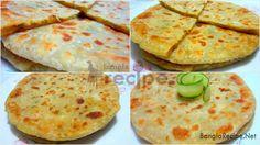 Stuffed Vegetable Porota Bangla Recipe Recipe & Image: Nadia Natasha Time: 20 Minutes