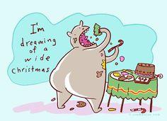 Well, that changes the song meaning! | Read Jim Benton Cartoons @ www.gocomics.com/jim-benton-cartoons/2014/12/22?utm_source=pinterest&utm_medium=socialmarketing&utm_campaign=social-pin | #GoComics #webcomic #comics #Christmas