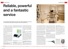 Reliable, powerful and fantastic service, Smile Magazine, October 2014 Dental Hygienist, October 2014, Articles, Smile, Magazine, Magazines, Laughing