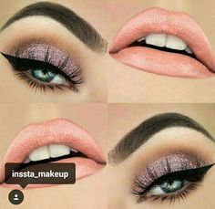 Pageant and Prom Makeup Inspiration. Find more beautiful makeup looks with Pageant Planet. Makeup Goals, Makeup Inspo, Makeup Inspiration, Makeup Tips, Makeup Ideas, Kiss Makeup, Eye Makeup, Pageant Makeup, Prom Makeup