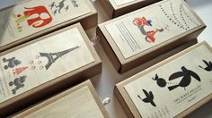 rubber stamps (Ink + Wit)