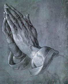 **The Praying Hands  1508  by Albrecht Dürer Very touching story behind this painting