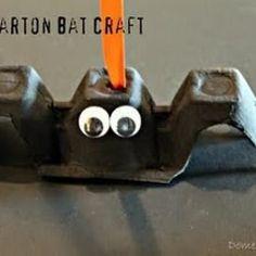 Vincent vampire  Bat Craft {Halloween Crafts for Kids}