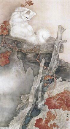 Чтоб мы так жили! - Живые кошки Сюй Синьци (гохуа) (или же автором является Mi Chunmao - сие загадка...)