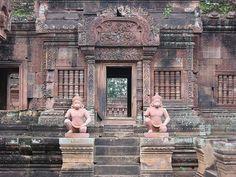 ) Banteay srei temple, Cambodia