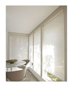 Solar Roller #Shades This could be a good, simple and relatively inexpensive solution in the Playroom.  I have used many times and will bring some samples for you to review on Friday!